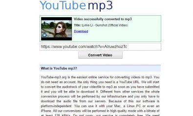 youtube-u-mp3