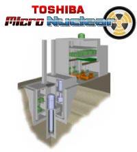 Toshiba Micro Nuclear reaktor