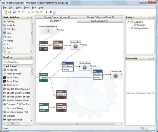 microsoft robotics developer studio besplatan