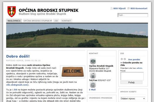 blog općine brodski stupnik