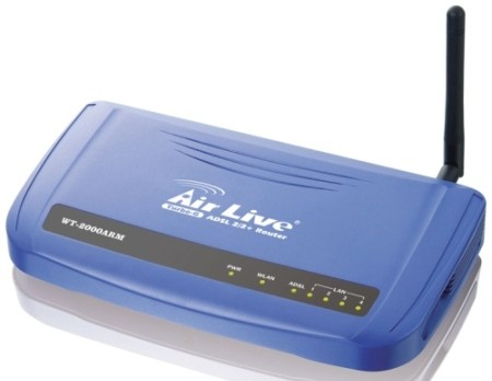 airlive wt-2000arm adsl modem